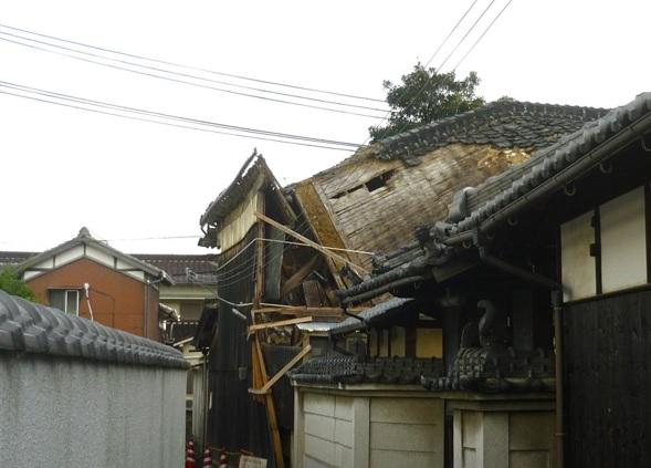 姫路市の倒壊の恐れのある空き家